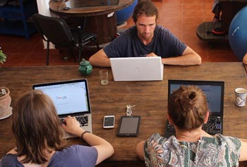 CoWorking at SunDesk - 3 CoWorker